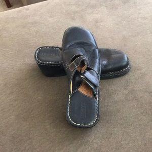 Born black Mules size 10/42